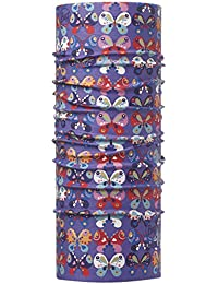 BUFF JUNIOR Foulard multifonctionnel haute protection UV CHRYSALIS, violet, Gr.50-55