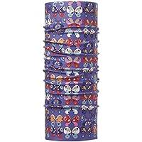 Original Buff Chrysalis Violet - High UV Protection para niños de 10-14 años, diseño Estampado