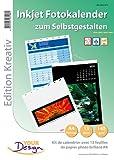 Your Design Kalender Papier: Fotokalender-Set A4 hoch (140g/m²) (Fotokalender Druck Sets)