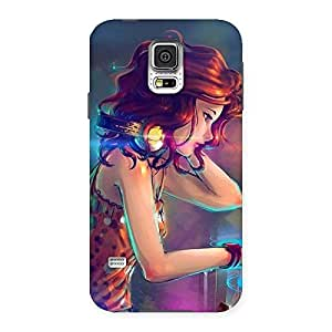 Dj Girl Back Case Cover for Samsung Galaxy S5
