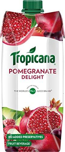 Tropicana Pomegrante Delight Fruit Juice, 500ml