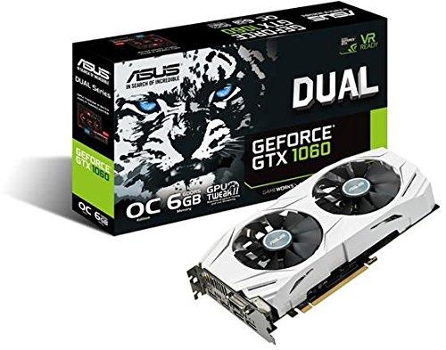 Asus Dual-GTX1060-O6G Gaming Nvidia GeForce Grafikkarte (PCIe 3.0, 6GB GDDR5 Speicher, HDMI, DVI, Displayport) - 7