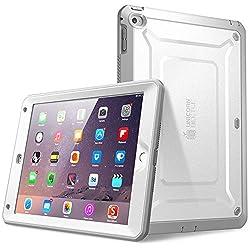 SUPCASE Unicorn Beetle Series Hybrid Protective Case sorgt für ein stylisches Design und gleichzeitig für maximaler Schutz Ihres iPad Air 2 gegen Kratzern und Stürze. Dank der modernen Technologien werden thermoplastisches, flexibles Polyurethan mit ...