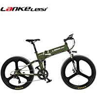 lankeleisi xt750 – 26 inch plegable para bicicleta E-BIKE eléctrica – Bicicleta de montaña