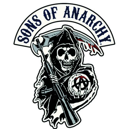 Sons Of Anarchy Reaper Logo Écusson brodé Patch