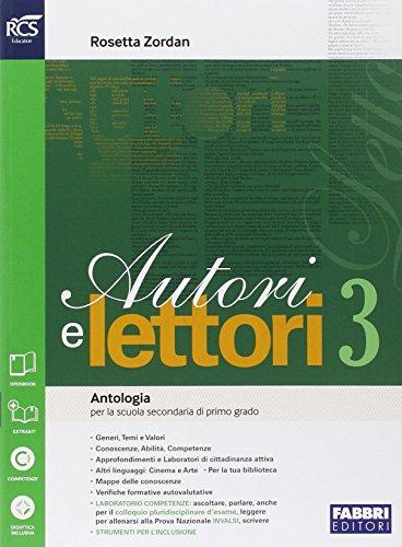 Autori e lettori. Quaderno. Per la Scuola media. Con espansione online: 3