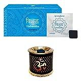 Aromafume Vishudhha Incense Bricks (24pcs) & Om Exotic Incense Diffuser