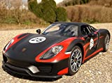 WIM-SHOP RC Modell Porsche 918 Spyder mit LICHT 33cm Ferngesteuert 27MHz