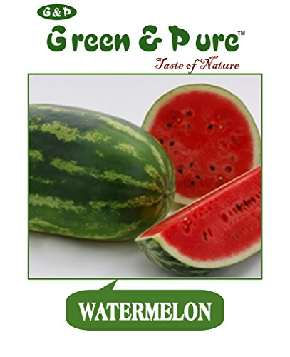 Agro Green Biolife Organic Fruit Seeds - Watermelon - Pack Of 3 For Kitchen / Terrace / Home Garden  available at amazon for Rs.175