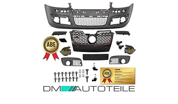 Dm Autoteile Set Golf 5 V Stoßstange Vorne Nebelscheinwerfer Gelb Für Gti Abe Montageset Auto