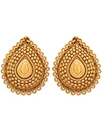 BFC-Buy For Change Very Stylish Designed Gold Plated Stud/ Earrings For Women And Girls