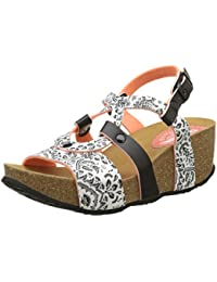 Desigual Bio9 Save Queen Black, Heels Sandals para Mujer