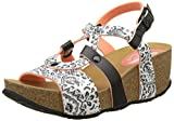Desigual Women's Bio9 Save Queen Black Heels Sandals