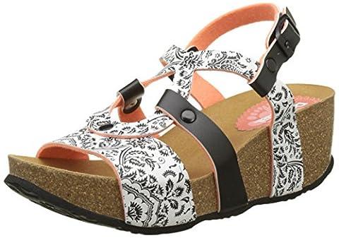 Chaussures Desigual - Desigual Bio9 Save Queen, Sandales Bride Arriere