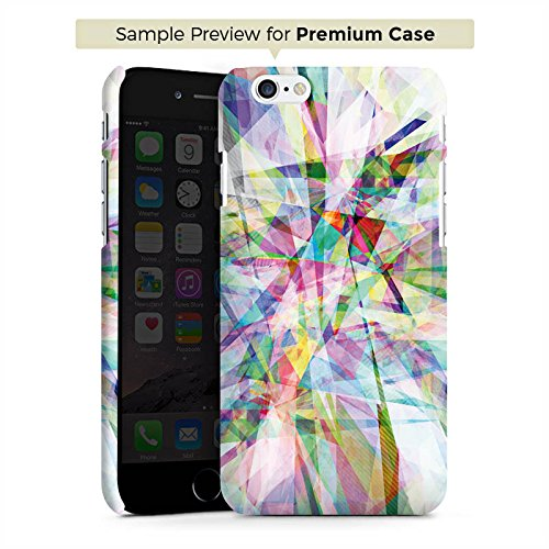 Apple iPhone 5s Housse Étui Protection Coque Cristal Prisme Arc-en-ciel Cas Premium mat