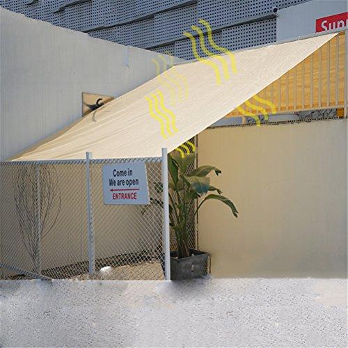 Dbtxwd Sand Farbe Sun Shade Sail UV Block Für Terrasse Gartenanlage und Aktivitäten Verschiedene Größen,1M*2M