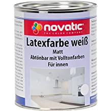 novatic Latexfarbe, weiß