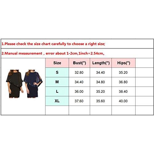 Kleider Damen Paillettenkleid Glitzer Bolero Knie Lang Abendkleid O Ausschnitt Patchwork Arbeit Büro Party Kleid Casual Elegant Juleya - 6
