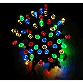 Solalite 100 LED Multi Coloured String Solar Powered Fairy