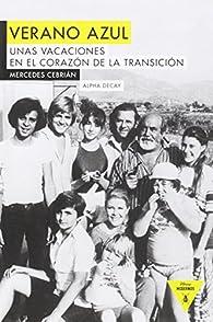 VERANO AZUL par  Mercedes Cebrián Coello