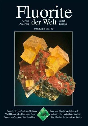 extraLapis No. 35 - Fluorite der Welt (Afrika, Amerika, Asien, Europa) {Broschiertes Paperback} (extraLapis)