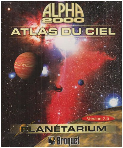 Atlas du Ciel Alpha 2000 CD ROM Window 95-98-2000