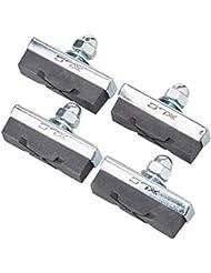 XLC Bremsschuhe Universal BS-C04 4er Set 40 mm, schwarz, 2500380900