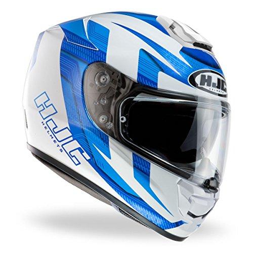 Hjc Helmets R-PHA St Murano Casque de moto, bleu, x-large