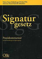 Signaturgesetz: Praxiskommentar