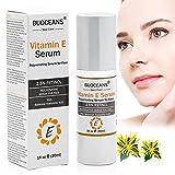 Vitamin E Serum für Gesicht mit Hyaluronsäure,Anti-Aging Serum, Feuchtigkeits Serum,Anti-Aging Gesichtspflege,gegen Gesichtfalten,Linien und alle Alterserscheinungen werden drastisch reduzier der Haut