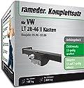 RAMEDER Komplettsatz, Anhängebock mit 2-Loch-Flanschkugel + 13pol Elektrik für VW LT 28-46 II Kasten (143011-03379-1)