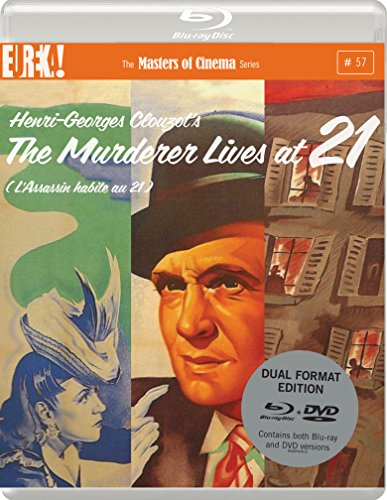 The Murderer Lives At 21 [L'ASSASSIN HABITE AU 21](Masters of Cinema) Dual Format (Blu-ray & DVD) Edition [UK Import]