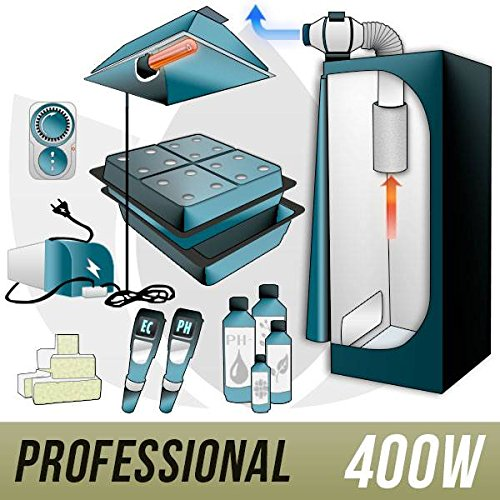 Kit Aeroponica 400w + Grow Box - PRO