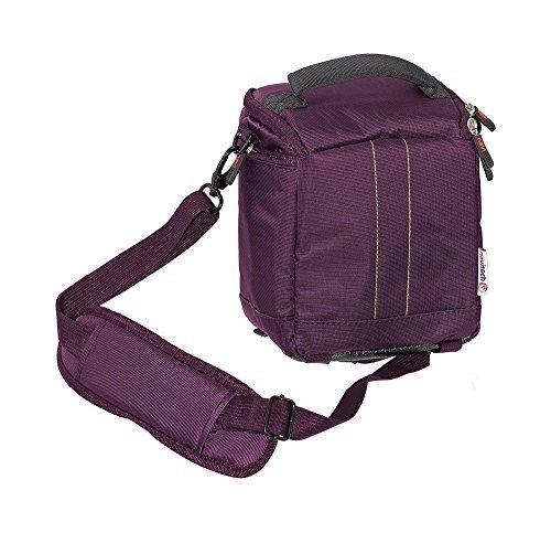 Preisvergleich Produktbild Navitech lila Umhängetasche für SEAGATE Backup Plus 4 TB