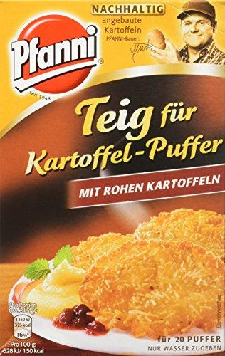 Pfanni Teig für Kartoffel-Puffer mit rohen Kartoffeln, 3er-Pack (3 x 220 g)