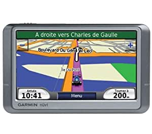 Garmin Nüvi 250 Wide Screen Gps Europe 4.3 Screen Tactile