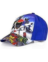 718a0175ce9 Boys Kids OFFICIAL Various Superhero Character Spiderman Power Ranger Baseball  Caps Summer Hat Size 52cms (Age 2-4) 54cms…