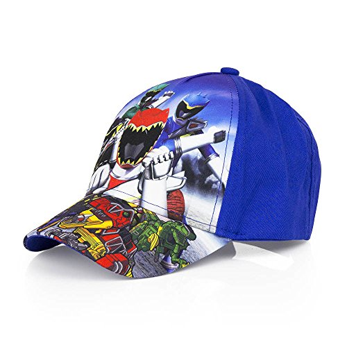 Boys Kids OFFICIAL Various Superhero Character Spiderman Power Ranger Baseball Caps Summer Hat Size 52cms (Age 2-4) 54cms (Age 4-8)