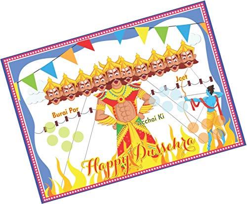 Party-Stuff-Dussehra-Theme-Tambola-Housie-Tickets-Dussehra-kukuba-3-Designer-Kukuba-Kitty-Games