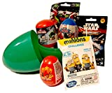 Huevo sorpresa con relleno de Star Wars, Marvel y Disney Toys Free, camiseta incluida, huevo gigante...