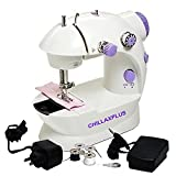 CHILLAXPLUS Portable 4 in 1 mini sewing ...