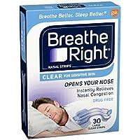 Breathe Right Large Clear (3 pack) 90 Strips @ 33p each inc p & p preisvergleich bei billige-tabletten.eu