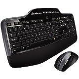 Logitech MK710 - Pack de teclado y ratón, color negro - Teclado QWERTY (versión español)