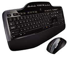 Logitech MK710 Tastiera Wireless Desktop, Layout UK QWERTY