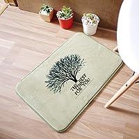 GFYWZ Home tappeto camera da letto bagno soggiorno tappeto mat , green , 50*80