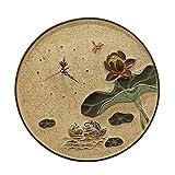 XYZS Orologio da Parete Nuovo Cinese Creativo Orologio da Parete Muto Soggiorno casa Camera da Letto Batteria Orologio Ciondolo Decorazione della Parete Ornamento