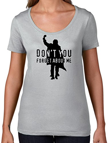Don't You Forget About Me - Womens Scoop Neck T-Shirt - 7 Colours - S to XXL