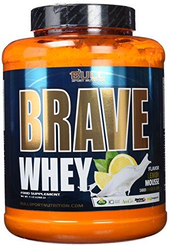 Bull Sport Nutrition Brave Whey Proteínas de Suero de Leche (Limón)   2270 gr