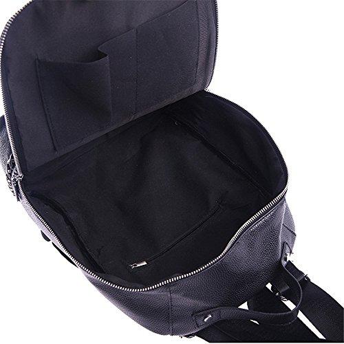 Meoaeo Sacchetti Per Il Tempo Libero Sono Tutti-Match Multi-Funzione Foro Auricolare Zaino Nero black