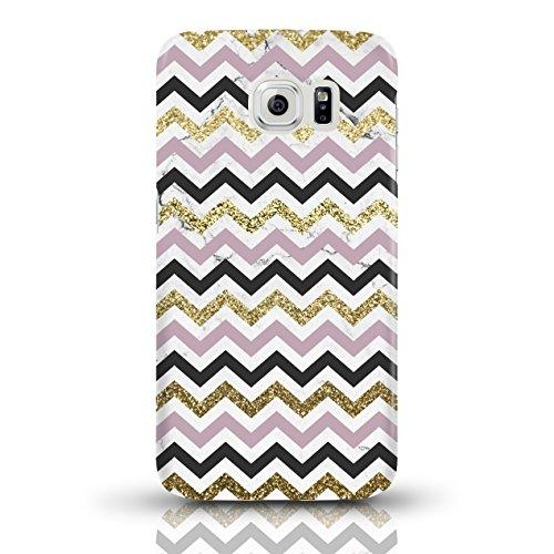 """JUNIWORDS Handyhüllen Slim Case für Samsung Galaxy S6 - Motiv wählbar - """"Majestätischer Hirsch"""" - Handyhülle, Handycase, Handyschale, Schutzhülle für Ihr Smartphone Chevron Muster bunt"""